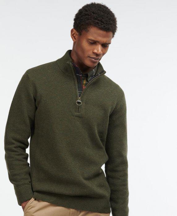 Barbour Holden Half Zip Sweater