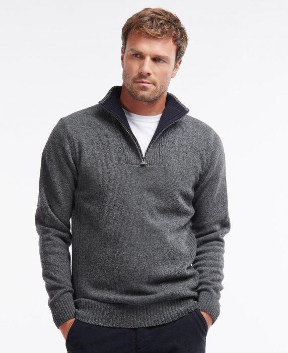 Barbour Nelson Essential Half Zip Sweater