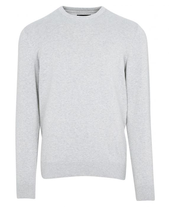 Barbour Pima Cotton Crew Neck Sweater
