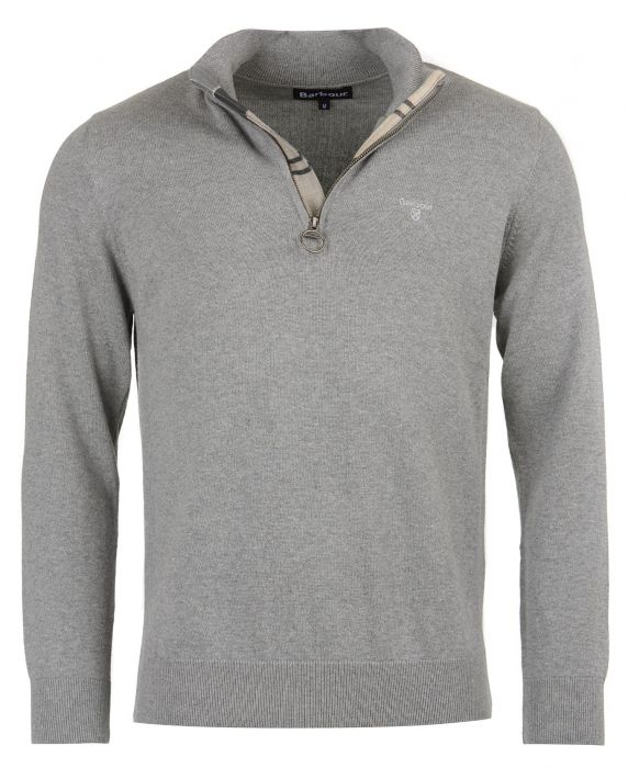 Barbour Cotton Half Zip Sweater