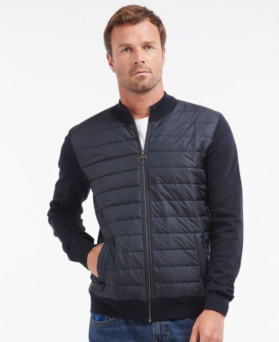 Barbour Carn Baffle Zip Thru Sweater