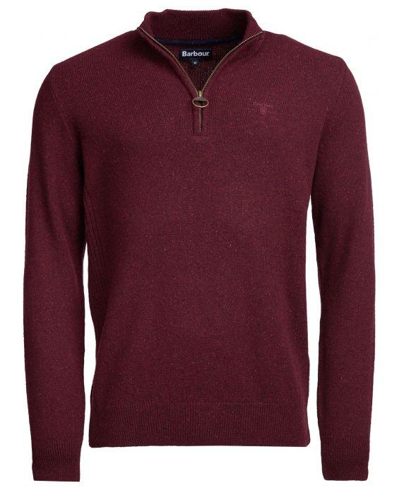 Barbour Tisbury Half Zip Sweater