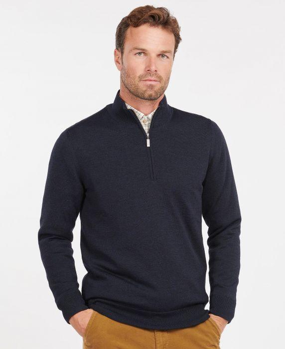 Barbour Gamlan Half Zip Sweater