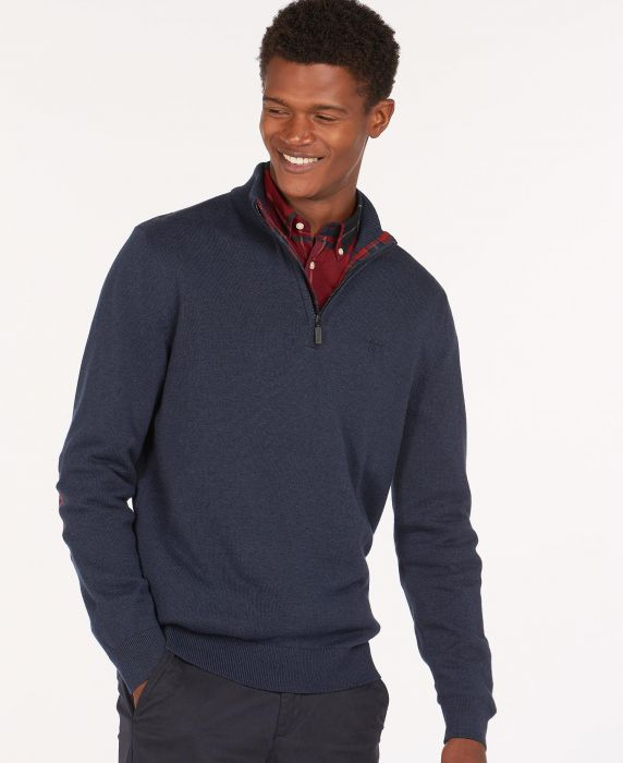 Barbour Avoch Half Zip Sweater
