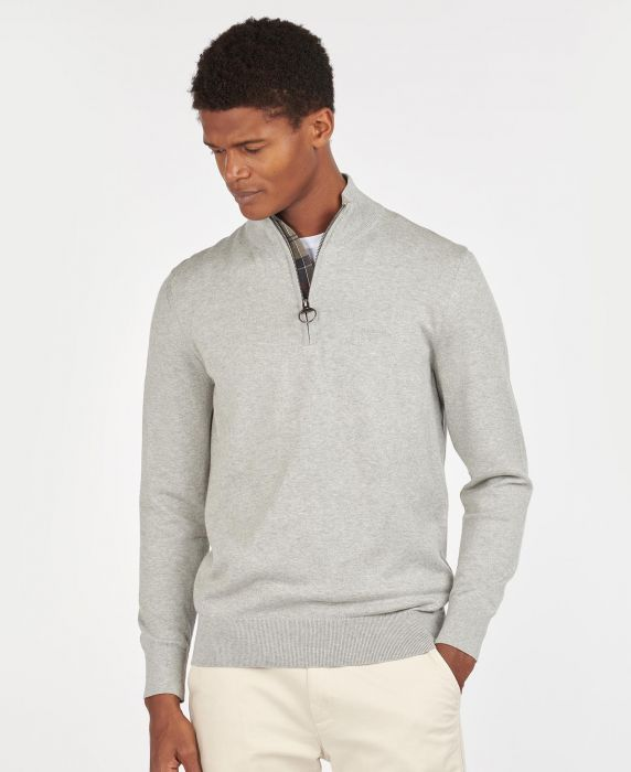 Barbour Tain Half Zip Sweater