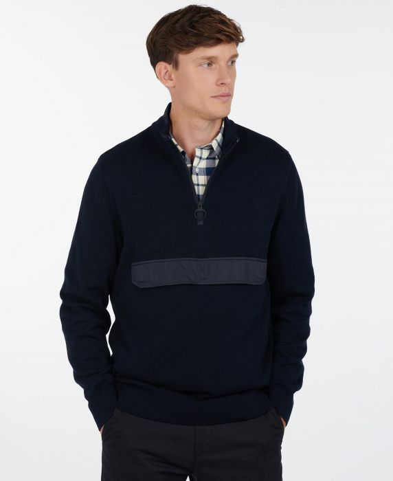 Barbour Cartfile Half Zip Sweater
