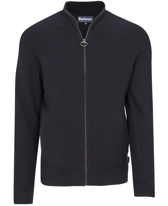 Barbour Abhainn Zip Through Sweater