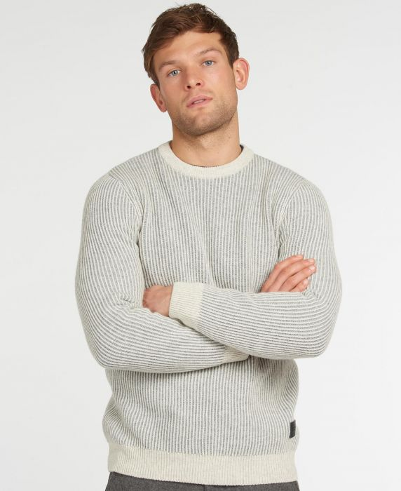 Barbour Duffle Knitted Crew Jumper