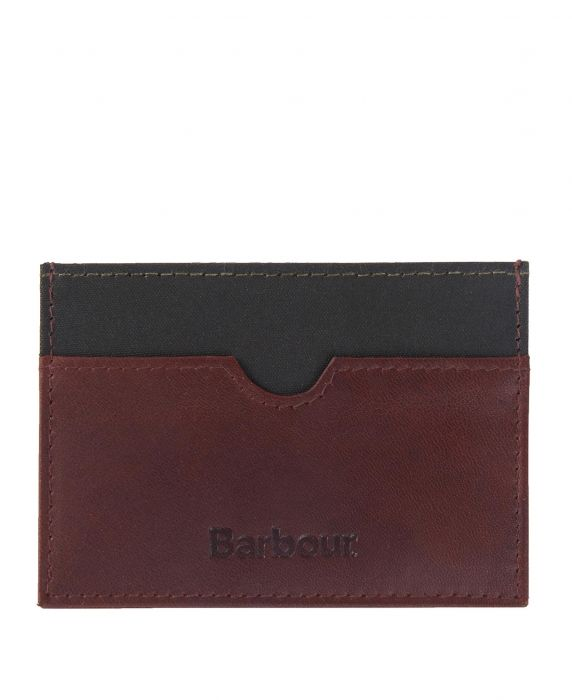 Barbour Wax/Leather Cardholder