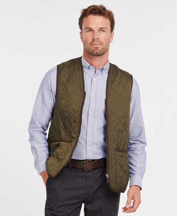 Barbour Polarquilt Waistcoat/Zip-In Liner