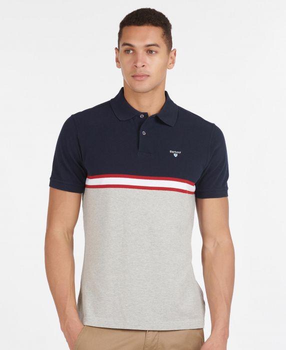 Barbour Block Colour Polo Shirt