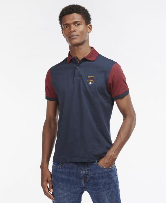 Barbour Contrast Crest Polo Shirt
