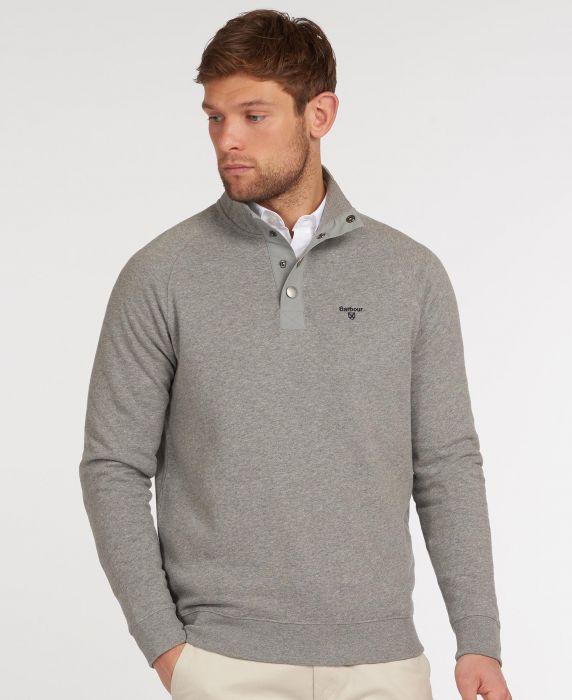 Barbour Half Snap Sweatshirt