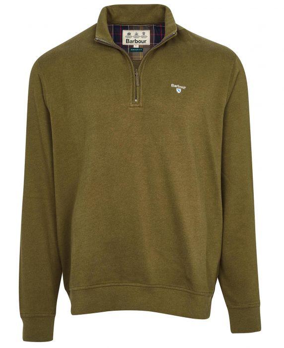Barbour Bankside Half Zip Sweatshirt
