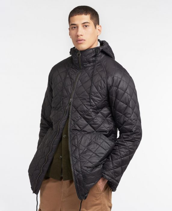 Barbour Gold Standard Quilted Hunting Wax Jacket