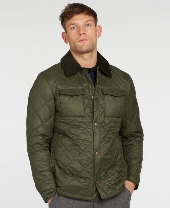 Barbour Shirt Quilted Jacket