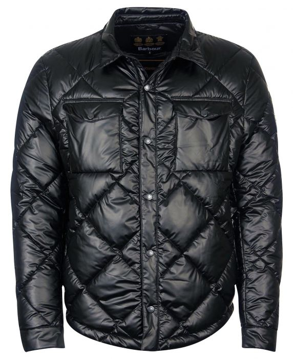 Barbour CPO Shirt Quilted Jacket