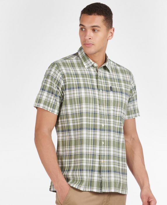 Barbour Linen Mix 2 Short Sleeved Summer Shirt