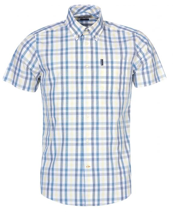 Barbour Tattersall 14 Short Sleeved Tailored Shirt