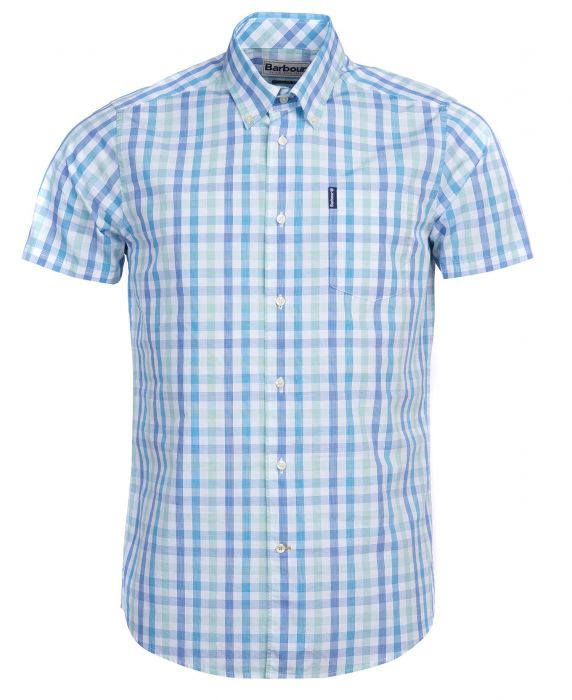 Barbour Tattersall 14 Short Sleeved Shirt