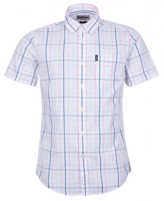 Barbour Tattersall 18 Short Sleeve Tailored Shirt