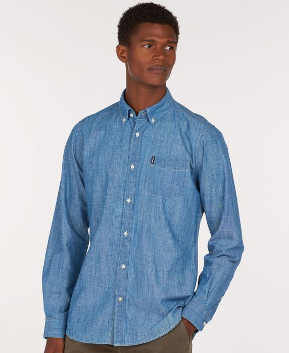 Barbour Chambray 1 Tailored Shirt
