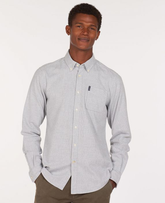 Barbour Houndstooth 1 Tailored Shirt