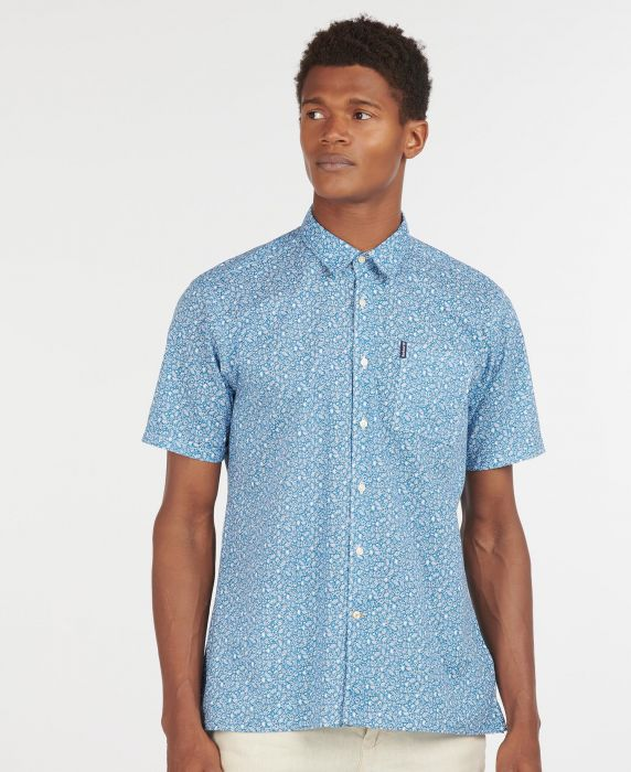 Barbour Print 8 Short Sleeved Summer Shirt