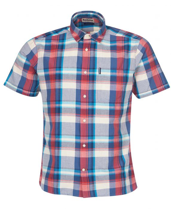 Barbour Madras 7 Short Sleeved Summer Shirt