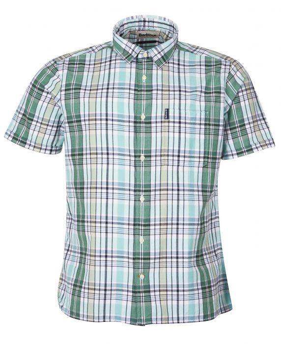 Barbour Madras 7 Short Sleeved Summer Shirt