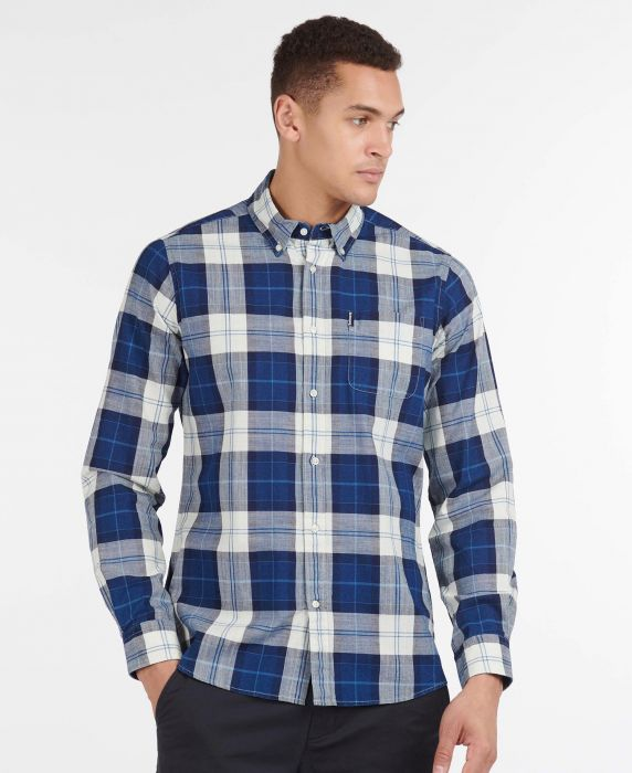 Barbour Indigo 9 Tailored Shirt