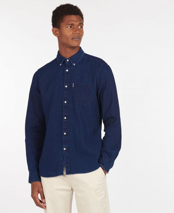 Barbour Indigo 10 Tailored Shirt