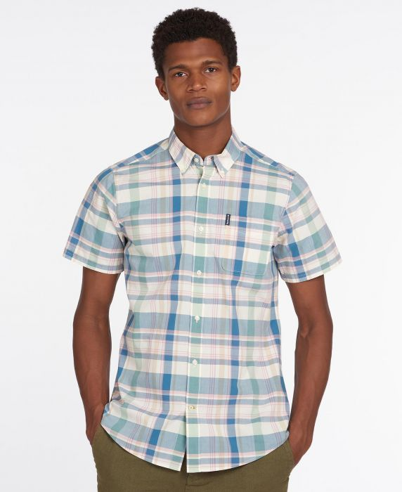 Barbour Highland Check 55 Short Sleeved Tailored Shirt