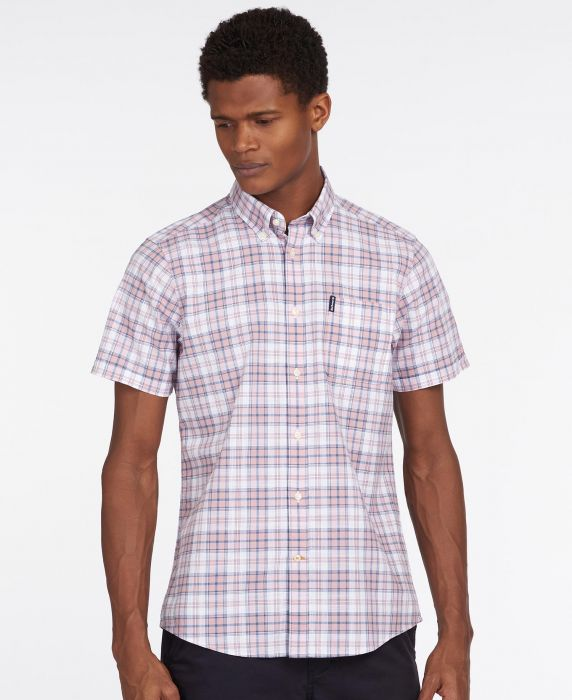 Barbour Country Check 22 Short Sleeved Tailored Shirt