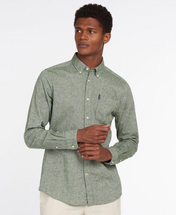 Barbour Linen Mix 7 Tailored Shirt
