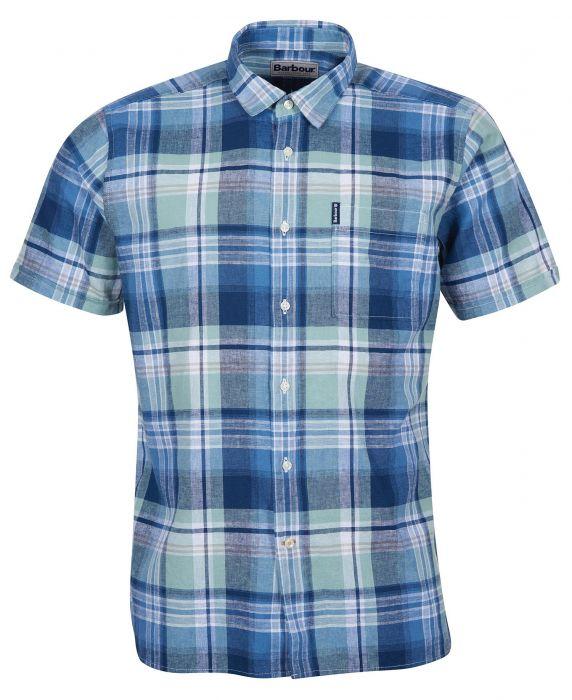 Barbour Linen Mix 9 Short Sleeved Summer Shirt