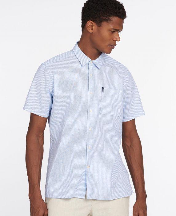 Barbour Linen Mix 10 Short Sleeved Summer Shirt