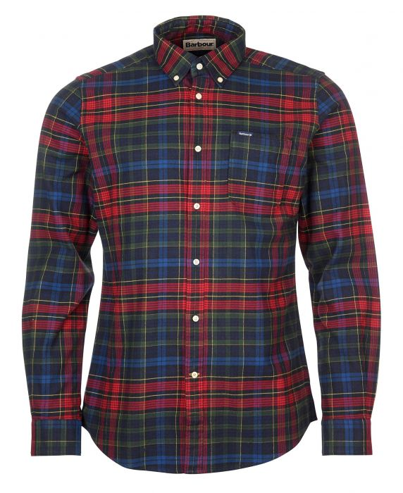 Barbour Ronan Tailored Check