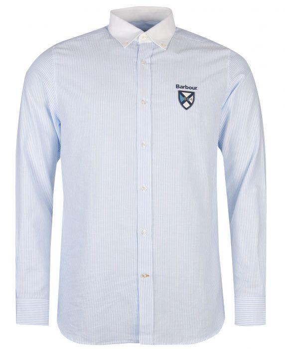 Barbour Crest Stripe Oxford Shirt
