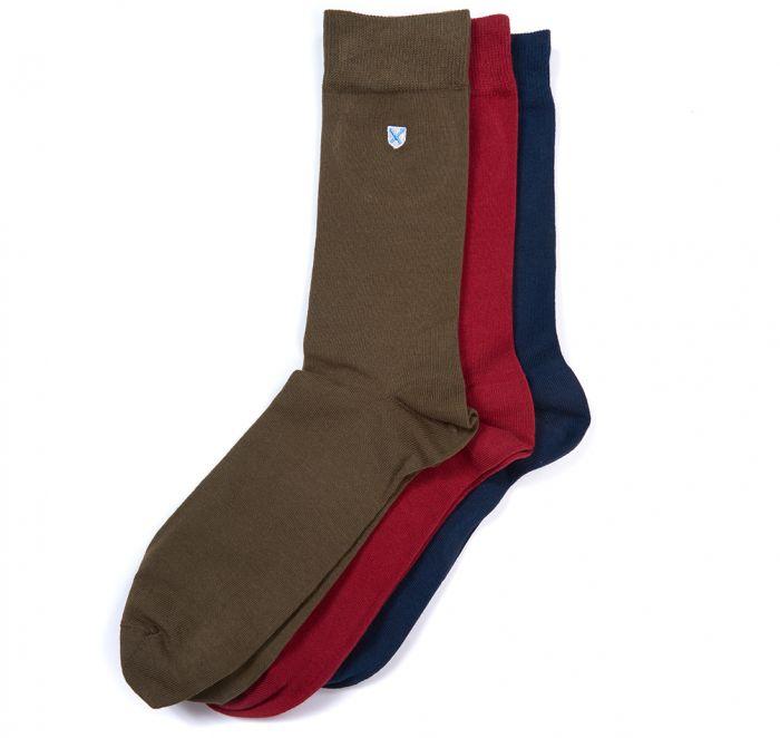 Barbour Crest Socks 3pk