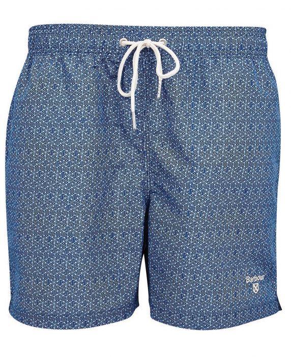 Barbour Geo Print Swim Shorts