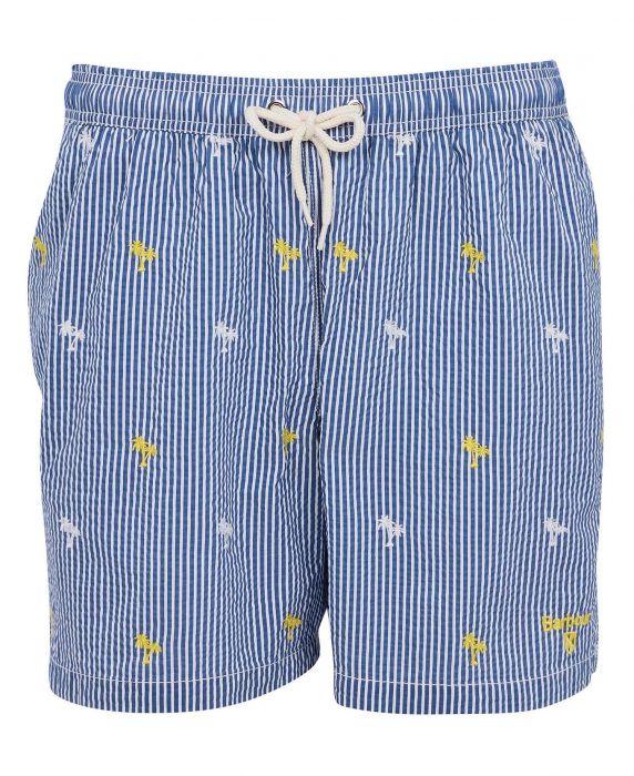 Barbour Palm Stripe Swim Shorts