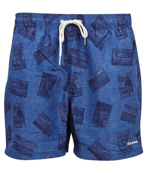 Barbour Archive Print Swim Shorts