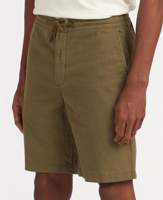 Barbour Linen Mix Shorts