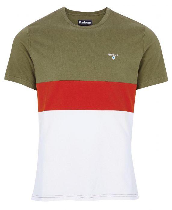 Barbour Castle Panel T-Shirt