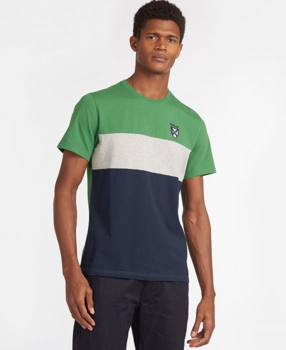 Barbour Crest Cut n Sew T-Shirt