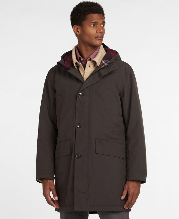 Barbour City Parka Waterproof Breathable Jacket
