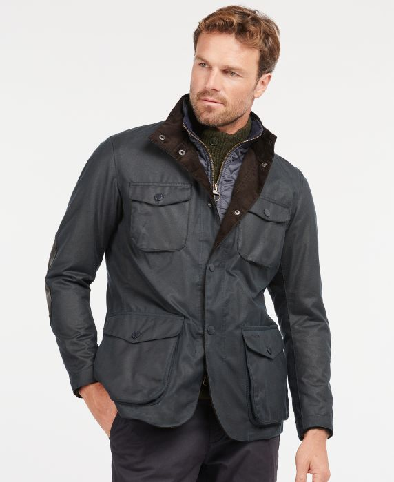Barbour Ogston Waxed Cotton Jacket