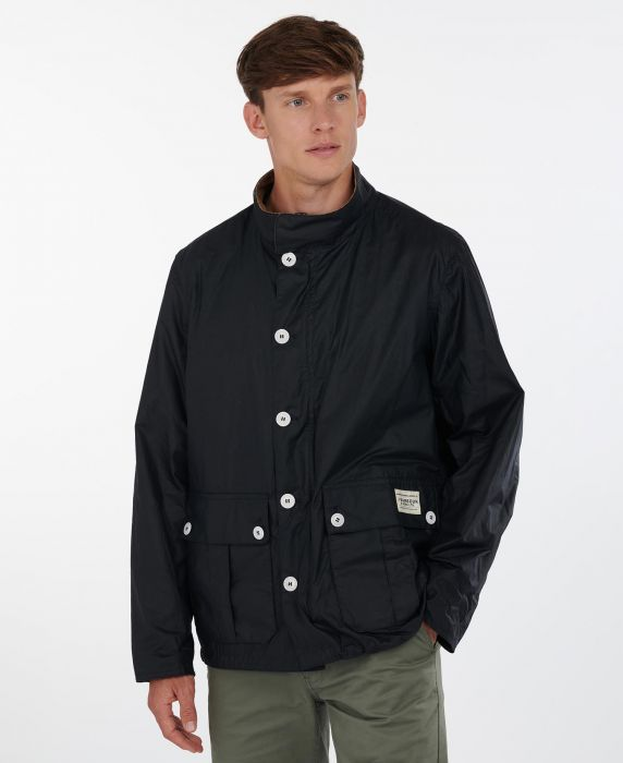 Barbour Qube Waxed Jacket