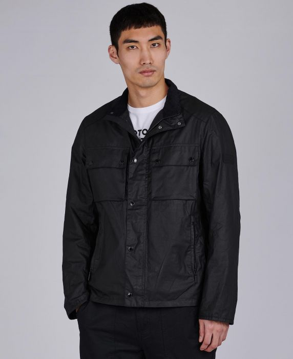 B.Intl Challenge Waxed Cotton Jacket